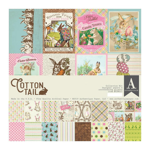 Authentique Collection Kit 12in x 12in - Cottontail
