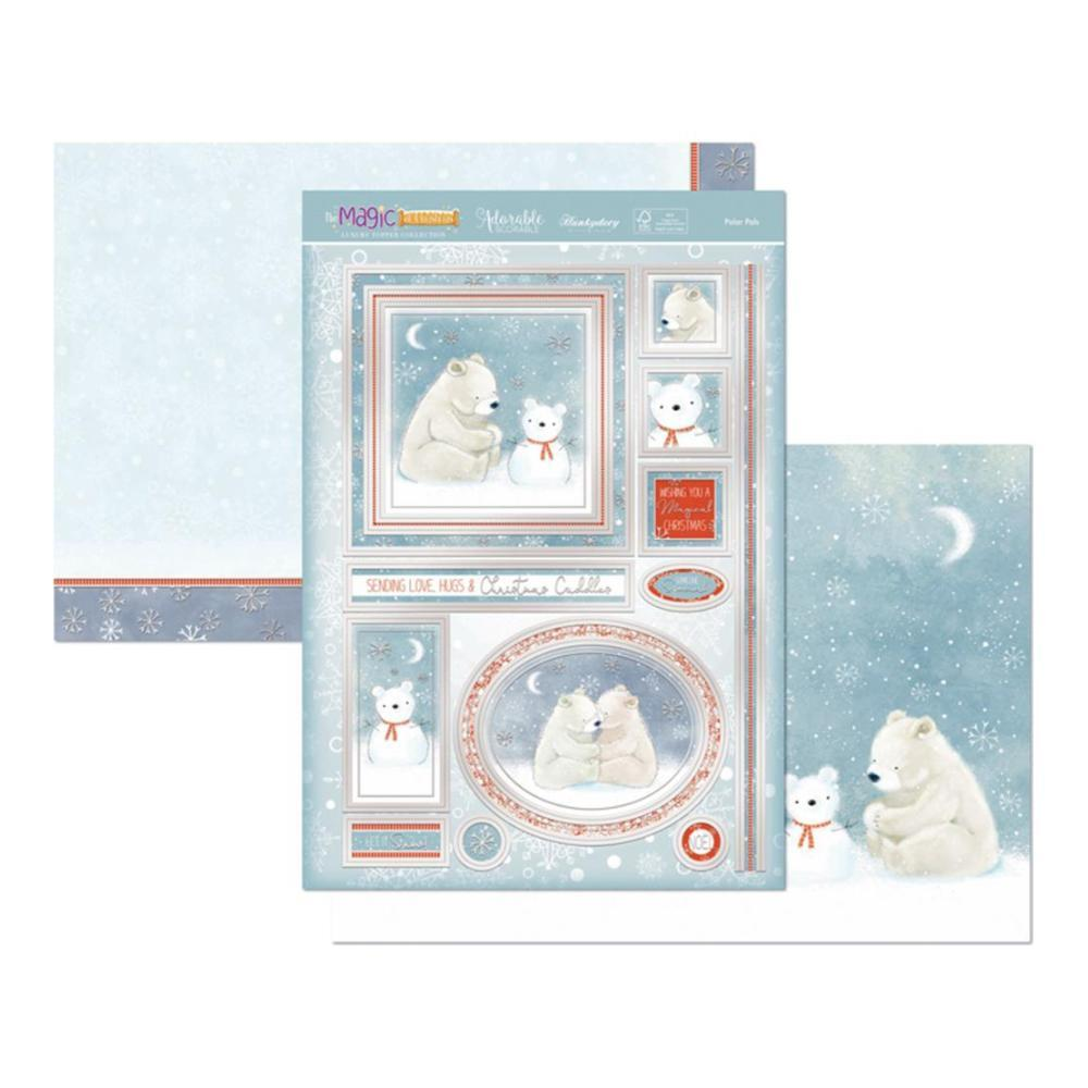 Hunkydory The Magic Of Christmas Luxury A4 Topper Set Polar Pals