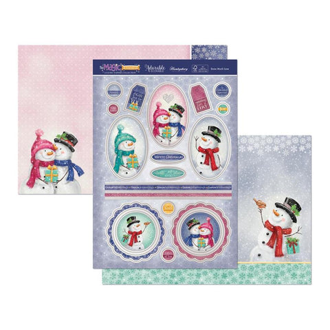 Hunkydory The Magic Of Christmas Luxury A4 Topper Set - Snow Much Love