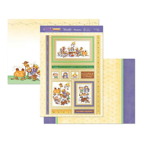 Hunkydory The Magic Of Christmas Luxury A4 Topper Set - The Nativity Story