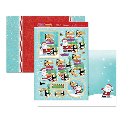 Hunkydory The Magic Of Christmas Luxury A4 Topper Set - The North Pole