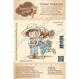 Dreamerland Crafts Clear Stamp Set 2.75 inch X2.75 inch - Surprise Kiss