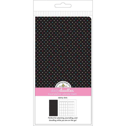 Doodlebug Planner Inserts - Dainty Dots Daily Doodles Calendar