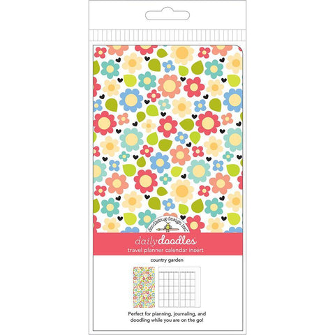 Doodlebug Planner Inserts - Country Garden Daily Doodles Calendar