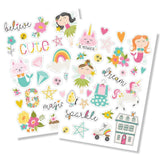 Simple Stories - Dream Big Puffy Stickers 4x6 inch 2 pack
