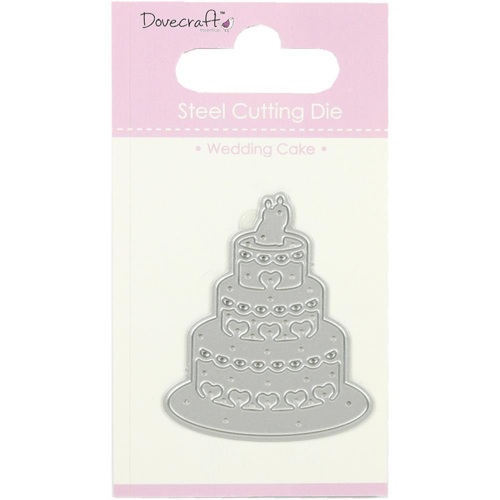 Dovecraft Mini Dies Wedding Cake