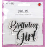 Dovecraft Clear Stamp Birthday Girl