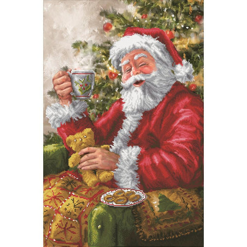 Diamond Dotz Diamond Embroidery Facet Art Kit 20.5 inch X31.5 inch - Santas Cuppa