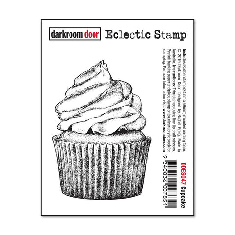 Darkroom Door - Eclectic Cling Stamp - Cupcake