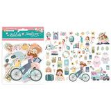 Stamperia Die-Cuts 57 pack Aires De Libertad By Johanna Rivero