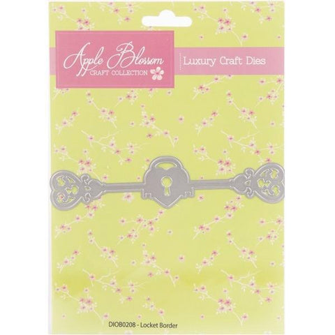 Apple Blossom Locket Border die