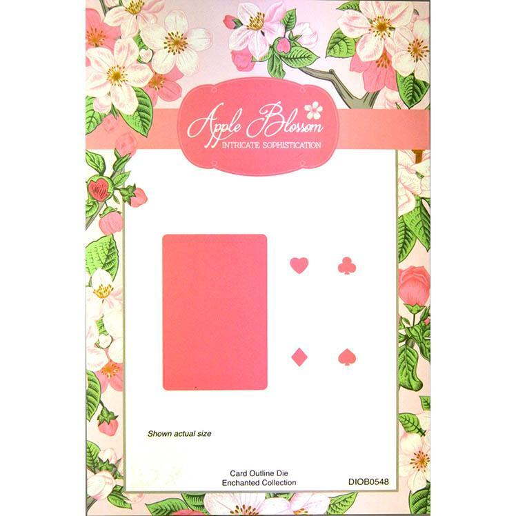 Apple Blossom - Enchanted Collection - Card Outline Die