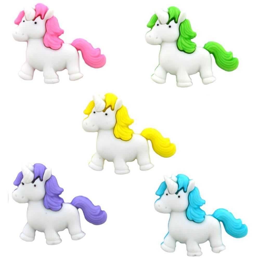 Dress It Up Embellishments - Fantasy Unicorns