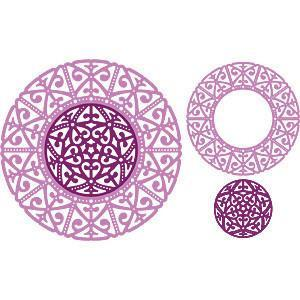Cheery Lynn - Deutschland Doily (Set Of 2)