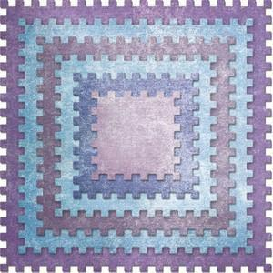 Cheery Lynn - Castle Edge Squares (Set Of 6) - Dl296