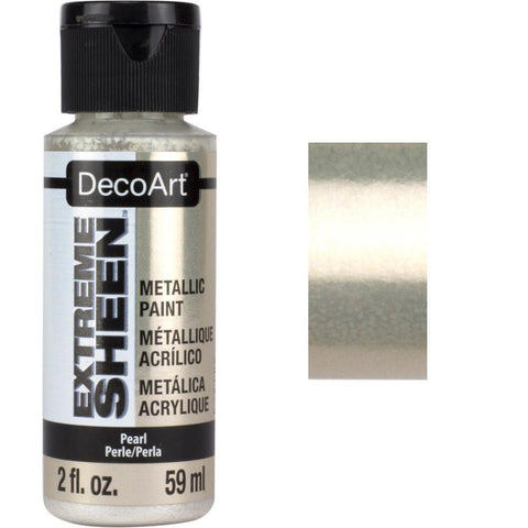 DecoArt Extreme Sheen Paint 2oz - Pearl