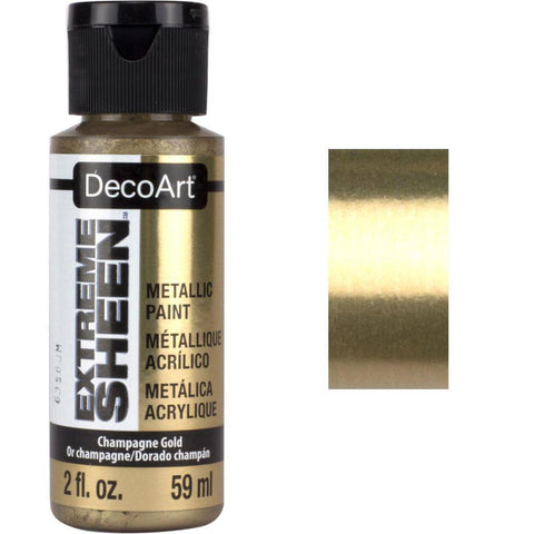 DecoArt Extreme Sheen Paint 2oz - Champagne Gold
