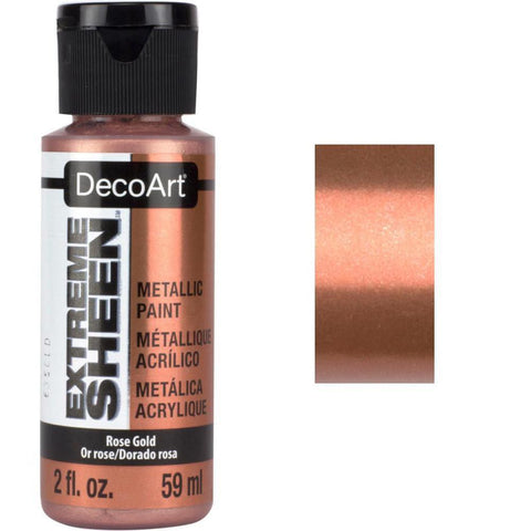 DecoArt Extreme Sheen Paint 2oz - Rose Gold