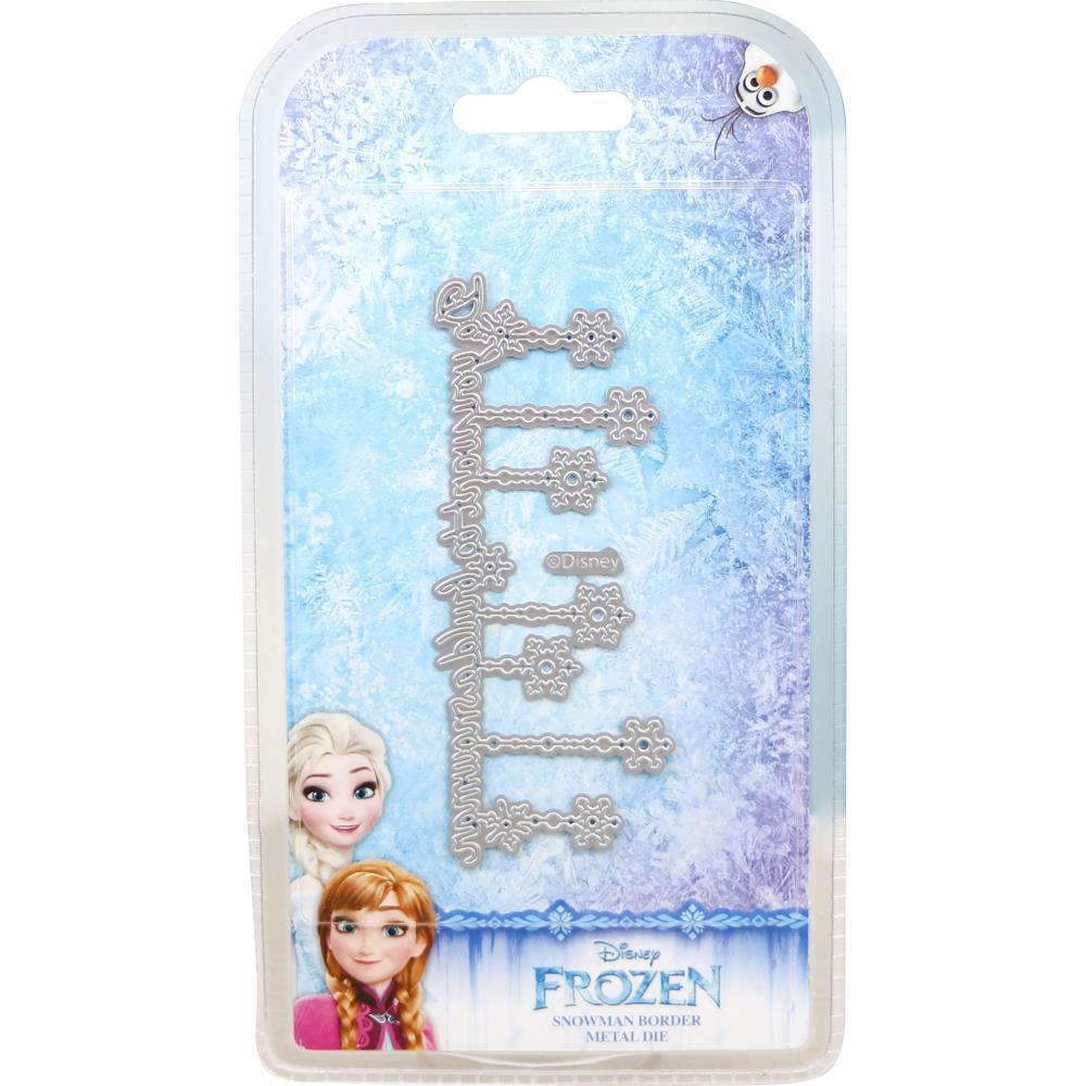 Disney Frozen Die Set - Snowman Border
