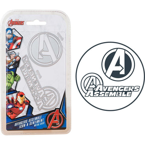Marvel Avengers Die Set - Avengers Icon & Sentiment