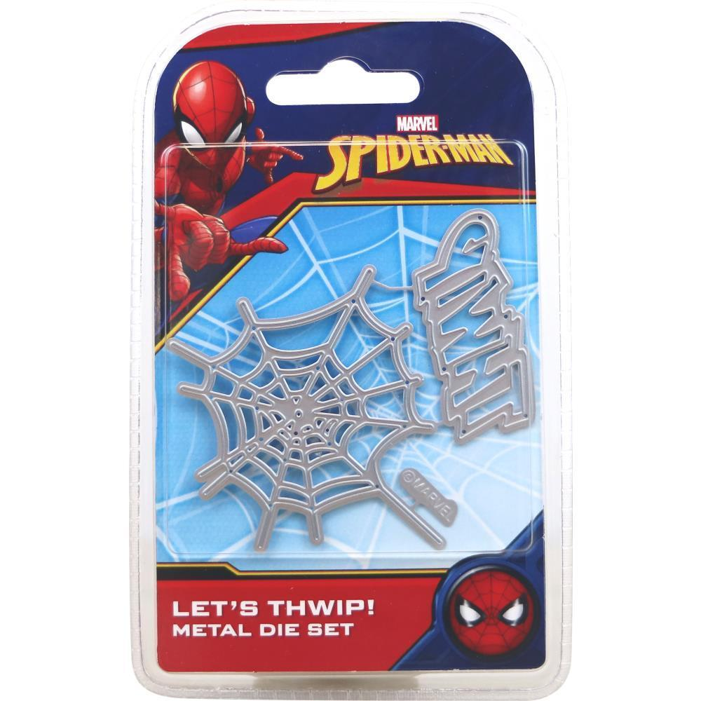 Marvel Spider Man Die Set - Lets THWIP!
