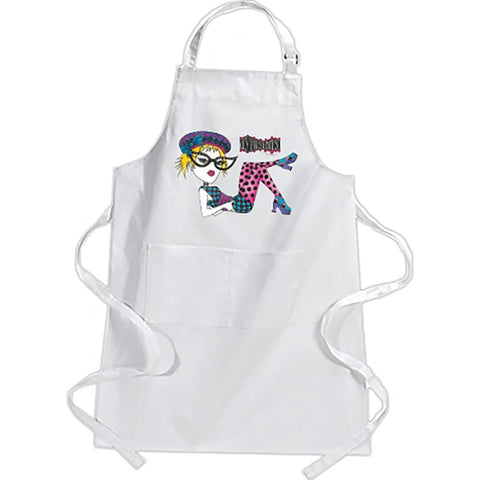 Dylusions Canvas Apron