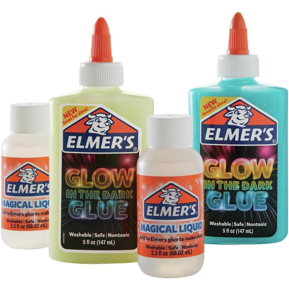 Elmer's Slime Kit with Magical Liquid Glow In The Dark