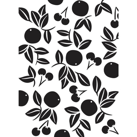 Darice - Embossing Folder 4.25x5.75 inch - Cherries