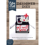 Echo Park 3D Card Box Die Set - Get Well Soon Pop Up Card
