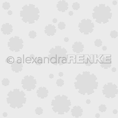 Alexandra Renke Embossing Folder - Japan Flower