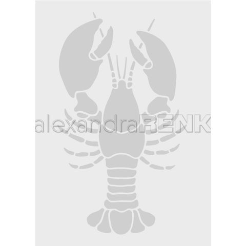 Alexandra Renke Embossing Folder Cooking; Lobster