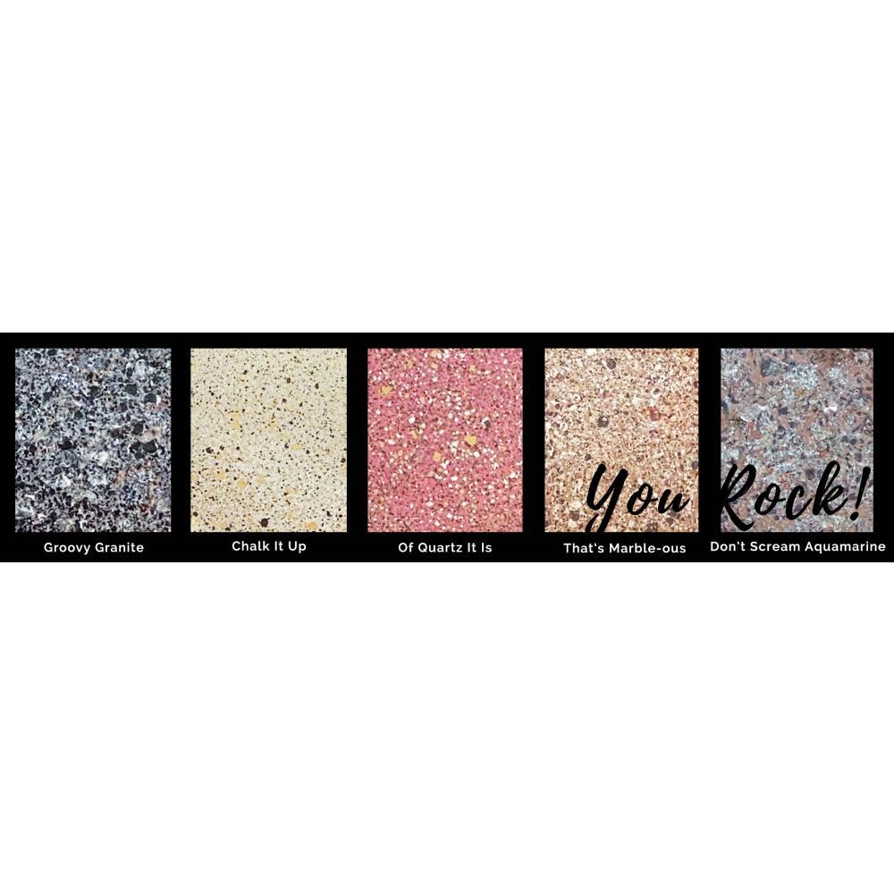 Lindys Stamp Gang Chunky Embossing Powders .5oz 5 pack - You Rock