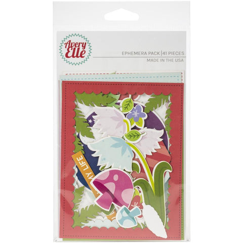 Avery Elle Ephemera Pack - Fairy, 41/Pkg