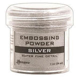 Ranger  - Embossing Powder 1Oz Jar Super Fine Silver