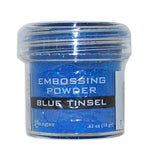 Blue Tinsel - Ranger Embossing Powder 1 Oz
