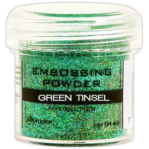 Green Tinsel - Ranger Embossing Powder 1 Oz