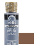 FolkArt Acrylic Paint 2oz - Bark Brown