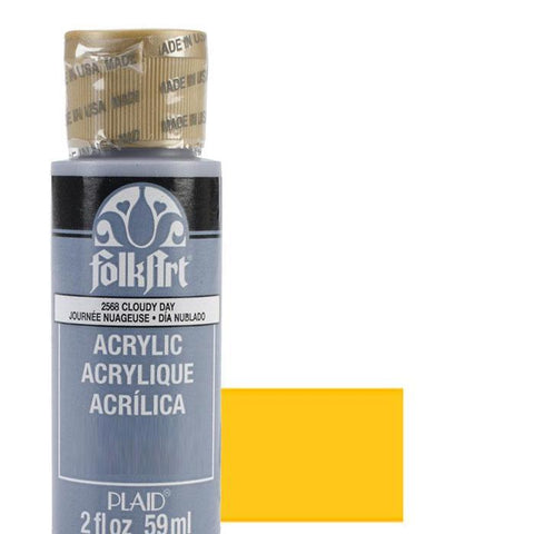 FolkArt Acrylic Paint 2oz - Turners Yellow Artist Pigment