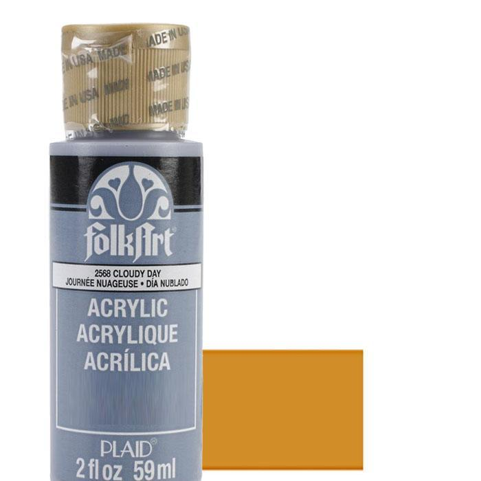 FolkArt Acrylic Paint 2oz - English Mustard