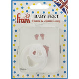 Fondant Icing Cutter Set 2 pack - Baby Feet