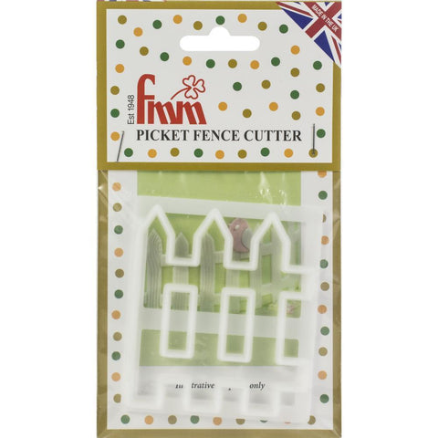 Fondant Icing Cutter - Picket Fence
