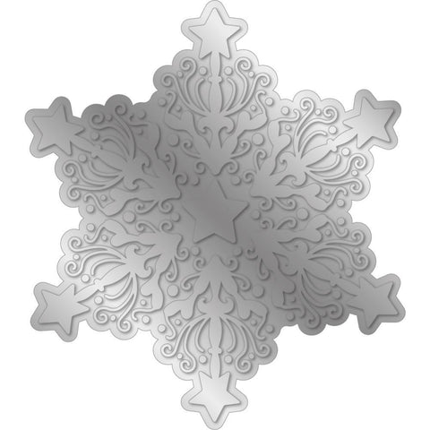 Crafter's Companion - Gemini Foilpress Stamp Die Elements - Ornate Snowflake
