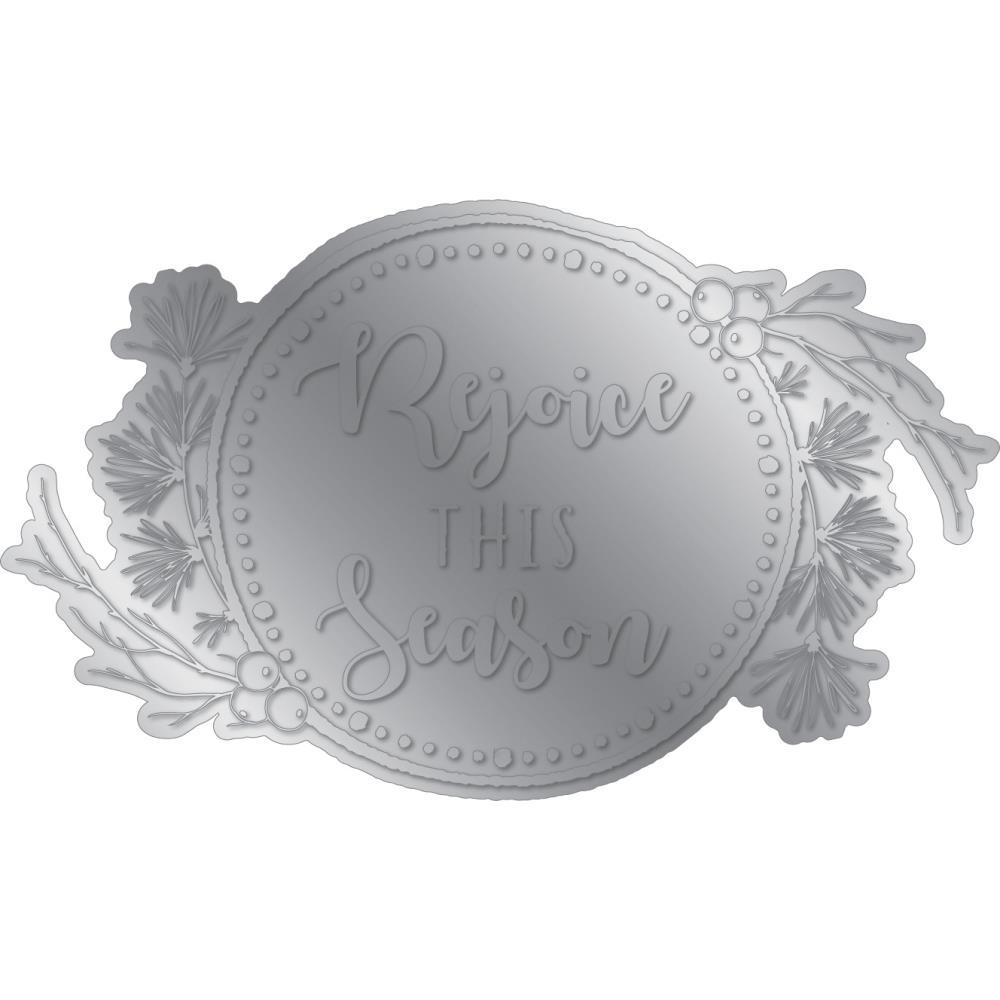 Crafter's Companion - Gemini Foilpress Stamp Die Expressions - Rejoice This Season