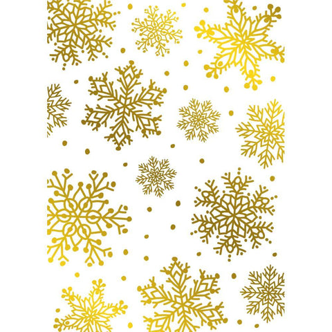 Crafter's Companion - Gemini Foilpress Stamp Die Elements - Snowflakes Background
