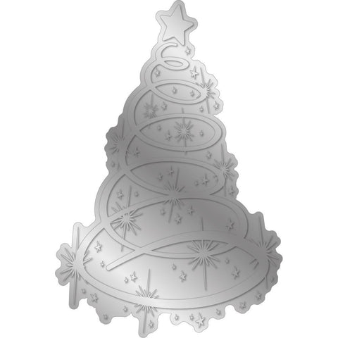 Crafter's Companion - Gemini Foilpress Stamp Die Elements - Twinkling Tree