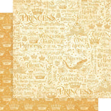 Graphic 45 - If the Crown Fits 12x12 Paper - single sheet