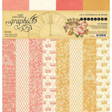 Graphic 45 - Princess 12x12 Patterns & Solid Pad