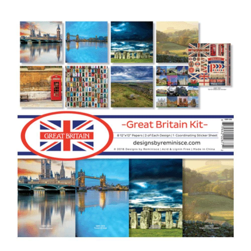 Reminisce Collection Kit 12 inchX12 inch Great Britain