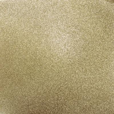 Kaisercraft Glitter Cardstock 12 inch X12 inch - Champagne
