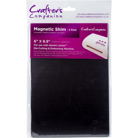 Crafter's Companion Gemini Junior Magnetic Shim 6 in x 9in 2 pack